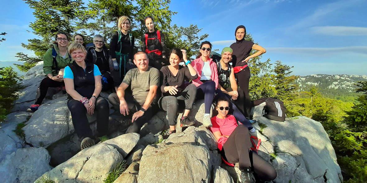 planinarenje izlet bijele stijene gorski kotar vikend 24